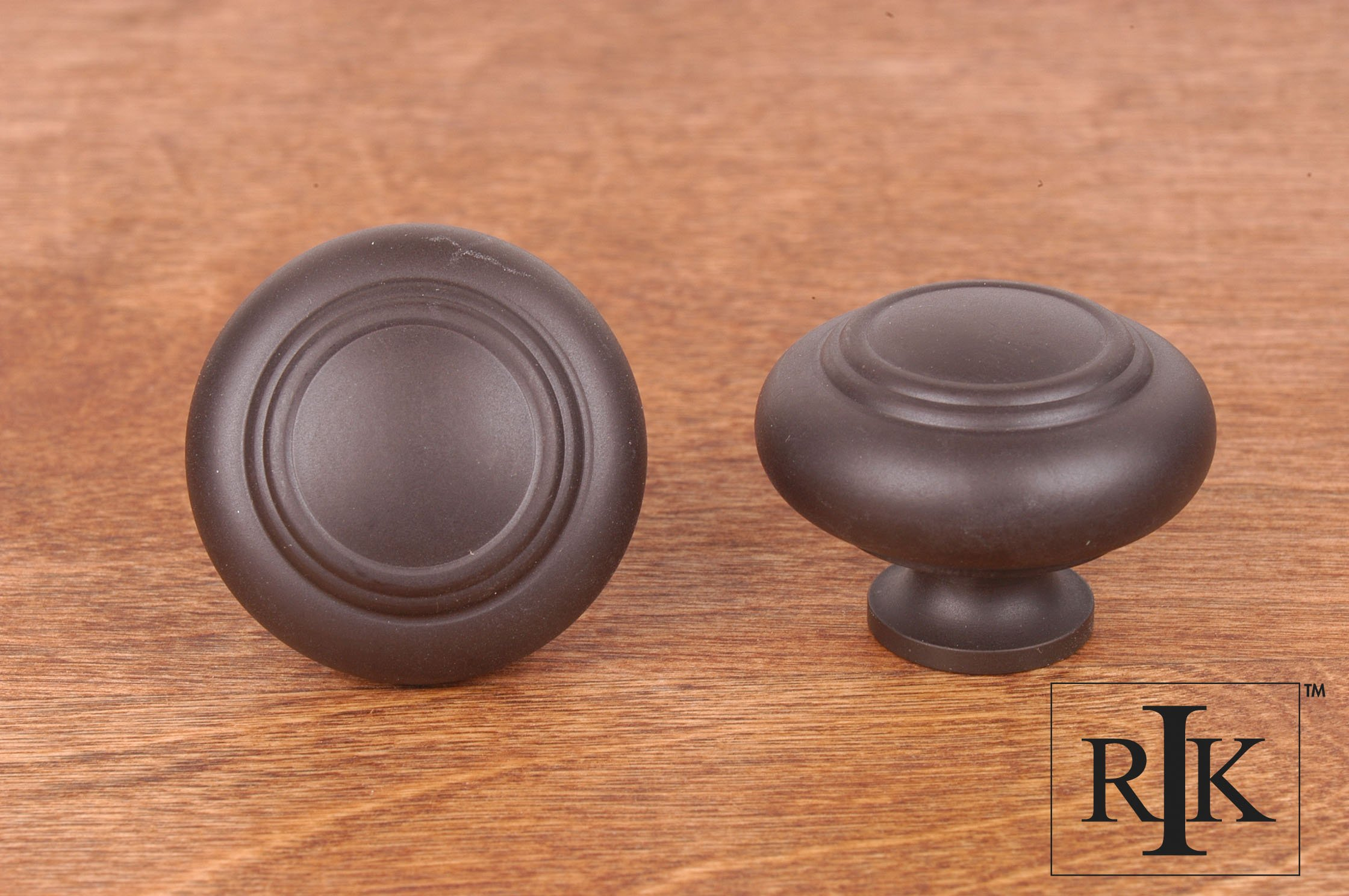 Rk international ck707 large double ringed knob home by for Decor products international