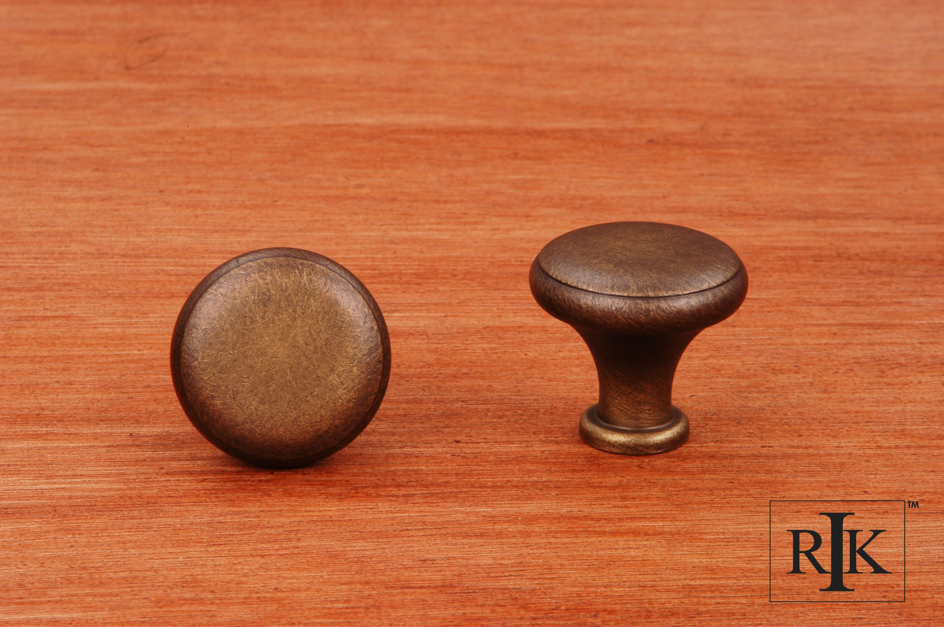 Rk International Ck9305 Solid Knob With Flat Edge Home By Decor