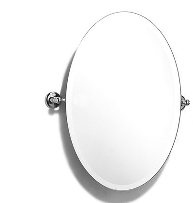 Samuel health l1146 oval swivel mirror home by decor for Oval swivel bathroom mirror