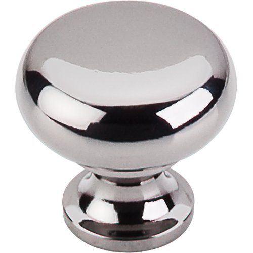 Top Knobs M272 Flat Faced Knob 1 1 4 Black Nickel Home By Decor
