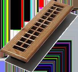 D Cor Grates We Solid Oak Wood Floor Register Lattice